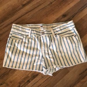 Stripped Levi shorts